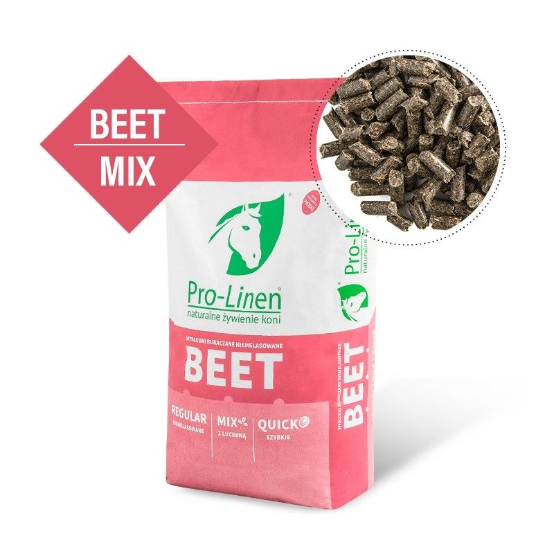 Pro-Linen Beet Mix - Szybkie wysłodki buraczane z lucerną