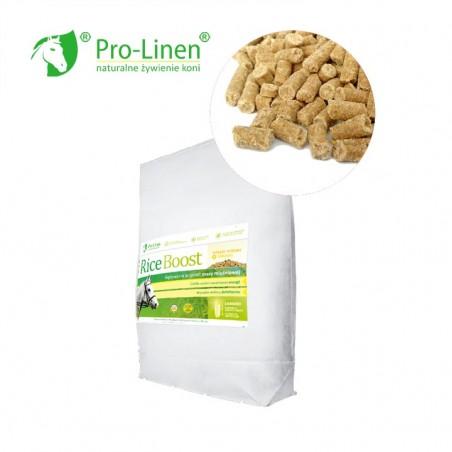 Pro-Linen Rice Boost 15 kg - otręby ryżowe dla koni + zarodki